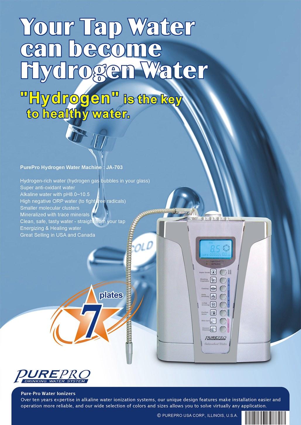 Aktivni vodik ključ do zdrave vode